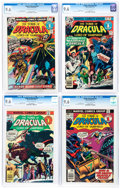 Bronze Age (1970-1979):Horror, Tomb of Dracula CGC-Graded Group of 4 (Marvel, 1976-77) CGC NM+9.6.... (Total: 4 Comic Books)