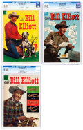 Golden Age (1938-1955):Western, Four Color - Wild Bill Elliott CGC-Graded Group of 3 (Dell, 1953-55).... (Total: 3 Comic Books)