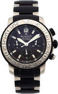 Estate Jewelry:Watches, Blancpain Gentleman's Stainless Steel Air Command Concept 2000 Fly Back Chronograph Watch. ...