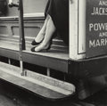 Photographs, Dorothea Lange (American, 1895-1965). Cable Car, San Francisco, 1956. Gelatin silver, circa 1960. 10 x 10 inches (25.4 x...