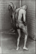 Photographs, Danny Lyon (American, b. 1942). Showers, Huntsville, Texas, 1968. Gelatin silver, 1980. 11-3/4 x 8 inches (29.8 x 20.3 c...