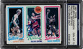 Basketball Cards:Singles (1980-Now), 1980 Topps Bird/Erving/Johnson PSA/DNA Gem Mint 10. Signed by All Three!...