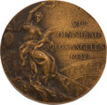 Olympic Collectibles:Autographs, 1932 Los Angeles Summer Olympics Bronze Medal. ...