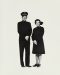 Photographs, Elliott Erwitt (American, b. 1928). Salvation Army Couple from Corning, New York, 1976. Gelatin silver. 20 x 16 inch...