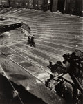 Photographs, Nathan Bernard Lerner (American, 1913-1997). The Roundhouse, Chicago, 1936. Gelatin silver, printed later. 15 x 12 inche...