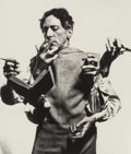 Photographs, Philippe Halsman (American, 1906-1979). Jean Cocteau (Multiple hands), 1950. Gelatin silver, 1983. 6-1/2 x 5-3/4 inches ...