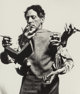 Philippe Halsman (American, 1906-1979) Jean Cocteau (Multiple hands), 1950 Gelatin silver 6-1/2 x 5-3/4 inches (16.5...