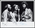 "Movie Posters:Rock and Roll, The Bee Gees by Andy Hanson (c. Early 1970s). Autographed Photo (8""X 10). Rock and Roll.. ..."