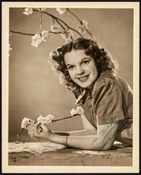"Judy Garland (MGM, c. 1940s). Autographed Portrait Photo (8"" X 10""). Musical"