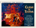 Memorabilia:Poster, Clash of the Titans Jumbo Window Card Movie Poster (MGM,1981)....