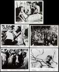 "Movie Posters:Foreign, Black Orpheus (Lopert, 1959). Photos (5) (8"" X 10""). Foreign.. ... (Total: 5 Items)"
