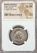 Ancients:Ancient Lots , Ancients: ANCIENT LOTS. Roman Provincial. Philip I. (AD 244-249).Lot of two (2) BI tetradrachms. NGC XF-Choice XF.... (Total: 2coins)