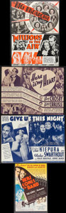"""Movie Posters:Musical, The Big Broadcast & Others Lot (Paramount, 1932). Heralds (5) (9"""" X 6"""" - 12"""" X 9""""). Musical.. ... (Total: 5 Items)"""