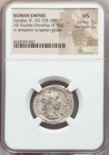 Ancients:Ancient Lots , Ancients: ANCIENT LOTS. Roman Imperial. Gordian III (AD 238-244).Lot of three (3) AR antoniniani. NGC AU-MS.... (Total: 3 coins)