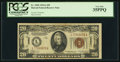 Small Size:World War II Emergency Notes, Fr. 2305 $20 1934A Hawaii Federal Reserve Note. PCGS Very Fine35PPQ.. ...