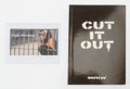 Fine Art - Work on Paper:Print, After Banksy . Cut It Out, booklet, and The Village Pet Store, business card, 2004; 2008. Offset lithographs in colo... (Total: 2 Items)
