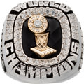 Basketball Collectibles:Others, 2006 Miami Heat NBA Championship Staff Ring with Original Box. ....
