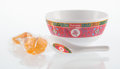 General Americana, Supreme . Longevity Soup Set, 2016. Plastic bowl and spoonwith two fortune cookies. 3 x 6 inches (7.6 x 15.2 cm) (bowl)...(Total: 4 Items)