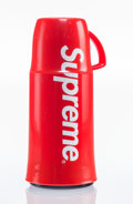 General Americana, Supreme X Helios. Supreme Thermos, 2014. Plastic. 8 incheshigh (20.3 cm). Published by Helios, Germany. ...