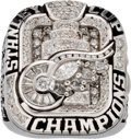 Hockey Cards:Lots, 2008 Detroit Red Wings Stanley Cup Championship Ring Presented to Sid Abel's Widow.. ...