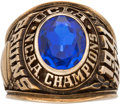 Basketball Collectibles:Others, 1971 UCLA Bruins Basketball National Championship Ring. . ...