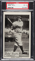 "Baseball Cards:Singles (Pre-1930), 1929-30 R315 ""Portraits and Action"" Babe Ruth PSA VG-EX 4.. ..."