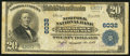 National Bank Notes:Virginia, Norfolk, VA - $20 1902 Plain Back Fr. 660 Norfolk NB of Commerce& Trusts Ch. # 6032. ...