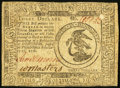 Colonial Notes:Continental Congress Issues, Continental Currency February 17, 1776 $3 Very Fine.. ...