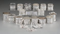 Silver Smalls:Other , Twenty American Silver Napkin Rings, late 19th cen...