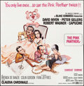 """Movie Posters:Comedy, The Pink Panther (United Artists, 1964). Six Sheet (79"""" X 80"""").Comedy.. ..."""