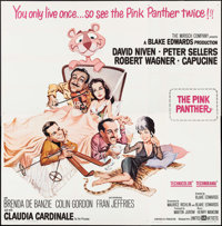 "The Pink Panther (United Artists, 1964). Six Sheet (79"" X 80""). Comedy"