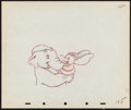 "Movie Posters:Animation, Dumbo (RKO, 1941). Color Animation Sheet (12"" X 10""). Animation.. ..."