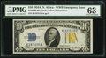 Small Size:World War II Emergency Notes, Fr. 2309 $10 1934A North Africa Silver Certificate. PMG ChoiceUncirculated 63.. ...