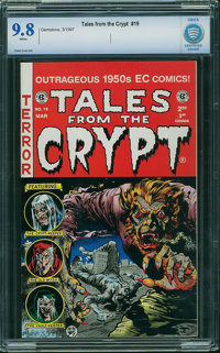 Tales From the Crypt #19 - CBCS CERTIFIED (Russ Cochran/Gemstone Publishing, 1997) CGC NM/MT 9.8 White pages