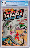 Silver Age (1956-1969):Superhero, The Brave and the Bold #28 (DC, 1960) CGC VG- 3.5 Off-white towhite pages....