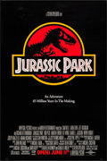 "Movie Posters:Science Fiction, Jurassic Park (Universal, 1993). One Sheet (27"" X 39.5"") Red Style.Science Fiction.. ..."