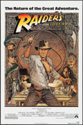 """Movie Posters:Adventure, Raiders of the Lost Ark (Paramount, R-1982). One Sheet (27"""" X 41""""). Adventure.. ..."""