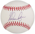 Autographs:Baseballs, Nolan Ryan Single Signed Baseball - PSA Gem Mint 10. . ...