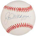 Autographs:Baseballs, Joe DiMaggio Single Signed Baseball - PSA/DNA NM-MT 8.. ...