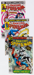 Modern Age (1980-Present):Superhero, The Amazing Spider-Man Group of 75 (Marvel, 1979-94) Condi...