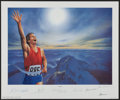 "Olympic Collectibles:Autographs, 1994 ""Victory"" Signed Lithograph with Neil Armstrong, Muhammad Aliand Others.. ..."