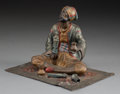 Decorative Arts, Continental:Other , An Austrian Cold-Painted Bronze Figure: AntiquitiesMerchant, late 19th-early 20th century. Marks: MADE INAUSTRIA...