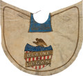 Political:3D & Other Display (pre-1896), James G. Blaine: Hand-Painted Parade Cape or Slicker....