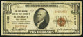 National Bank Notes:West Virginia, Elm Grove, WV - $10 1929 Ty. 1 The First NB & TC Ch. # 8983....