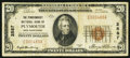 National Bank Notes:New Hampshire, Plymouth, NH - $20 1929 Ty. 1 The Pemigewasset NB Ch. # 2587. ...