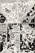 Original Comic Art:Panel Pages, Herb Trimpe and Frank Giacoia Incredible Hulk Annual #6 Page38 Original Art (Marvel, 1977)....