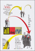 "Movie Posters:Academy Award Winners, All About Eve & Others Lot (20th Century Fox, R-2000). 50th Anniversary One Sheet & One Sheets (2) (26.75"" X 39.75"") DS & SS... (Total: 3 Items)"