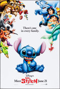 "Movie Posters:Animation, Lilo & Stitch & Others Lot (Buena Vista, 2002). One Sheets(3) (27"" X 40"") DS Advance. Animation.. ... (Total: 3 Items)"