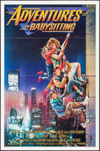"Adventures in Babysitting & Others Lot (Touchstone, 1987). One Sheets(3) (27"" X 41"", 27"" X 40&quo..."