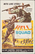 "Movie Posters:War, Hell Squad (American International, 1958). One Sheet (27"" X 41"").War.. ..."